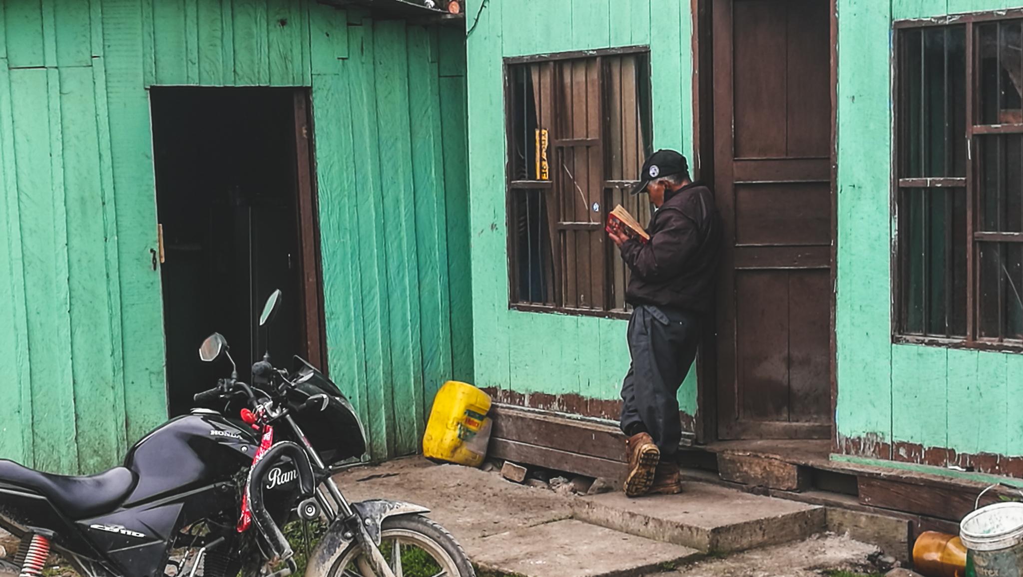 Über Popayan, Erdbeben und Irrfahren 5